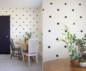 Back in Trend: DIY Polka Dot Crafts Add Fun Pattern to the Modern Home