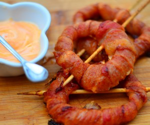 Bacon-Wrapped Onion Ring Campfire Recipe