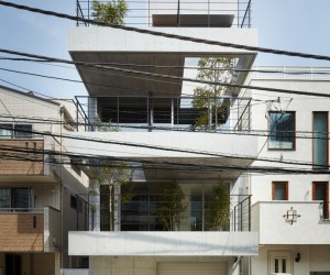 Balcony House by Ryo Matsui Architects Inc