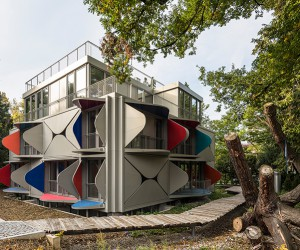 Ballet Mcanique Apartment Building By Manuel Herz