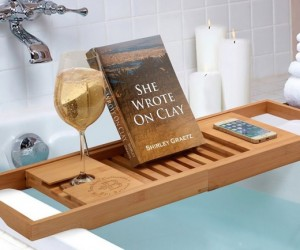 Bamboo Bathtub Caddy From Bambsi By Belmint