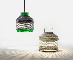 Bamboo Gabbia Lamp by Ryosuke Fukusada  Rui Pereira
