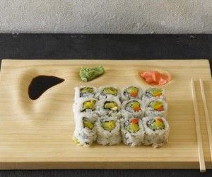 Bamboo Sushi Tray: Beautiful Plating