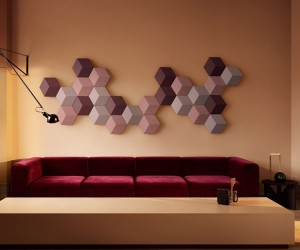 Bang  Olufsens modular speakers double as wall art