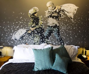 Banksy Unveils The Walled Off Hotel in Bethlehem