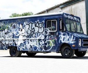 Banksys Graffiti Van to Auction at Bonhams