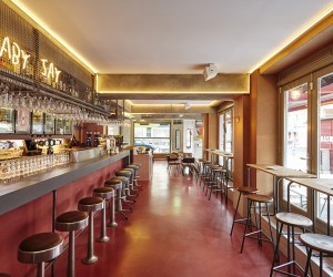 Bar Basquiat Amsterdam by Studio Modijefsky
