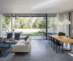 Bar Orian Architects Have Designed this Elegant and Contemporary Home in Tel Aviv, Israel