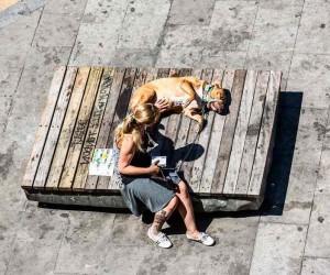 Barcelonas Street Life Photography by Gabor Erdelyi