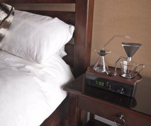Barisieur: The Alarm Clock and Coffee Brewer
