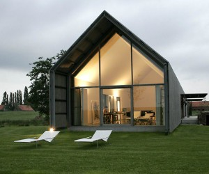 Barn House in Flanders by BURO II  ARCHII