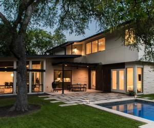 Barton Hills Residence in Austin by Brett Grinkmeyer Architecture