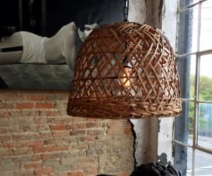 Basket Weave Chandelier