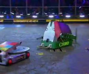 BattleBots Chomp vs. Disk O Inferno