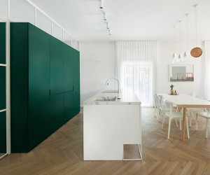 Bauhaus-era Apartment Refurbished In Tel Aviv