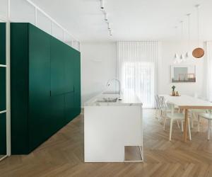 Bauhaus-era Apartment Refurbished In Tel Aviv