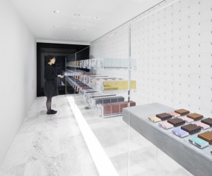 BbyB. Chocolate Shop in Ginza by Nendo, Tokyo
