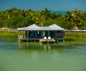 Be your own island with an overwater bungalow