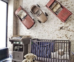 Beating Boredom in Style: Going Modern Industrial in the Nursery