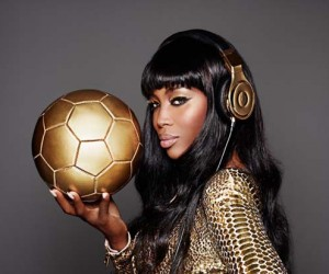 Beats by Dre and Naomi Campbell Go Gold for Germanys Victory