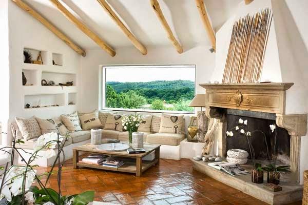 Beautiful italian cottage for Salotti in muratura