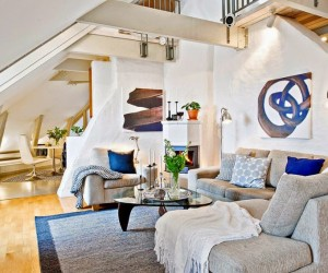 Beautiful Attic Design in Gothenburg