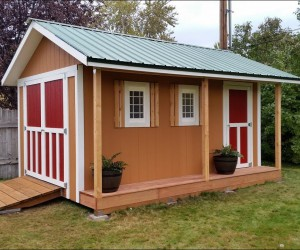 Beautiful DIY Shed Plans For Backyard