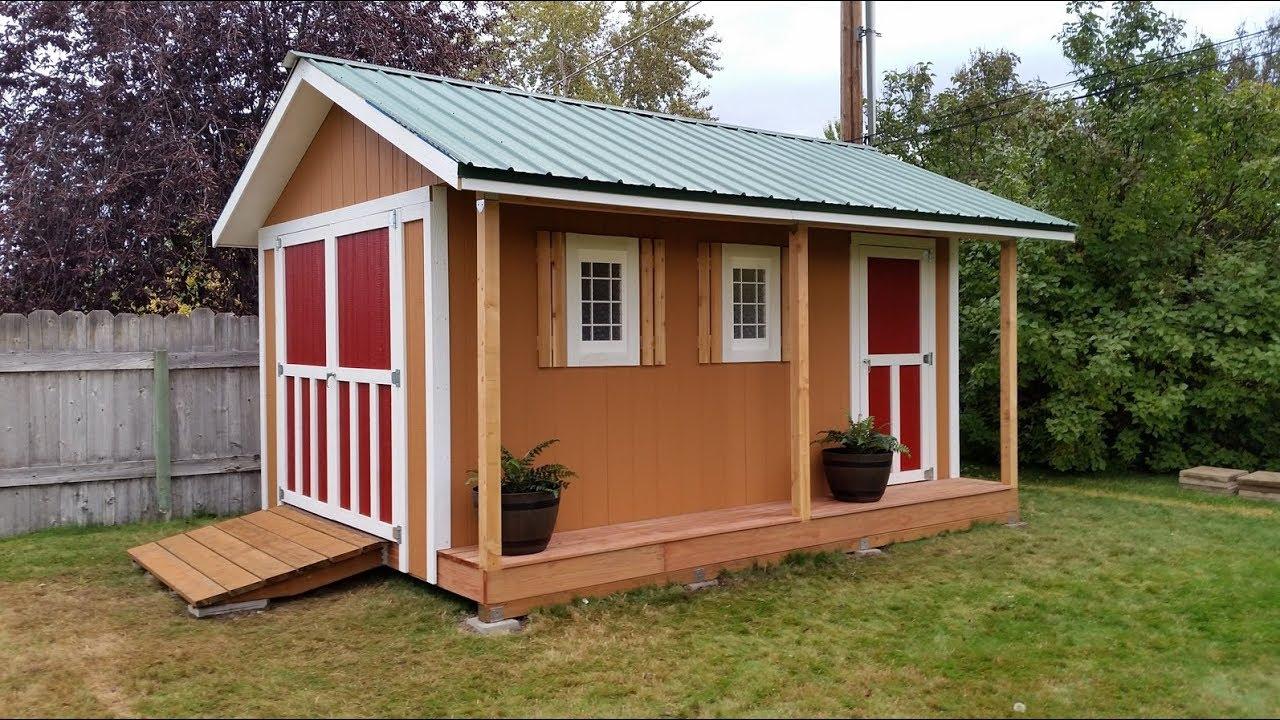 Beautiful DIY Shed Plans For Backyard