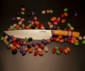 Beautiful Hand Made Chefs Knife from Kalmus Culinary Knives