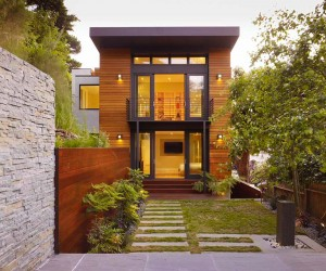 Beautiful Home Nestled into the Hillside of Cole Valley, California