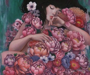 Beautiful Paintings of Women by Stella Im Hultberg