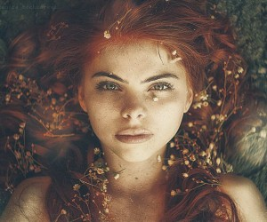 Beautiful Portraits of Freckles by Alexandra Bochkareva