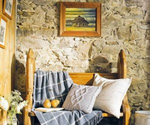 Beautiful restoration of an Irish thatched cottage