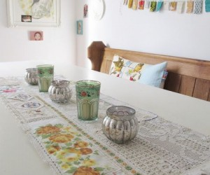 Beautiful Ways to Repurpose Vintage Linens