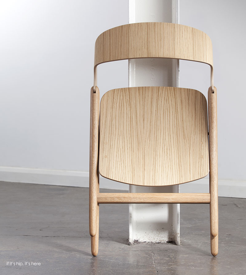 Beautiful Wood Folding Chair By David Irwin