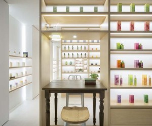 Beauty Library Aoyama Concept Store by nendo, Tokyo