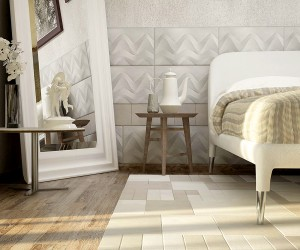 Bedroom Leather Tiles