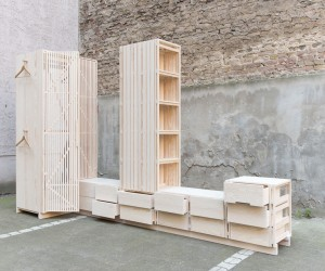 Bedroom Unit by Sebastin Erazo Fischer