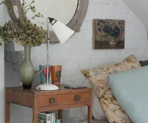 Bedside Nightstands Styled Just Right