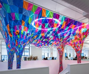 Behance Installation by SOFTlab