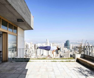 Beirut Roof Extension Project by Notan Office