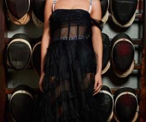 Bella Hadid Looks Divine in Dior