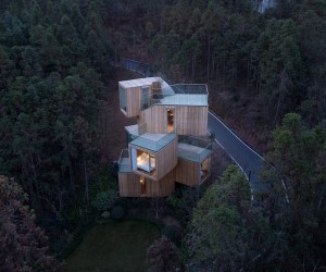 Bengo Studios Qiyunshan Tree House Hotel in China