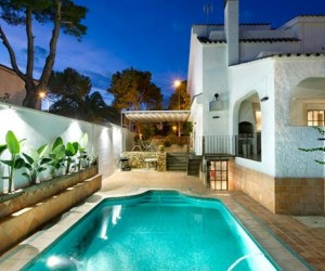 Benicassim House Classic and Modern Mixture of Styles