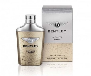 Bentley Infinite Rush  A new fragrance inspired by the Bentayga