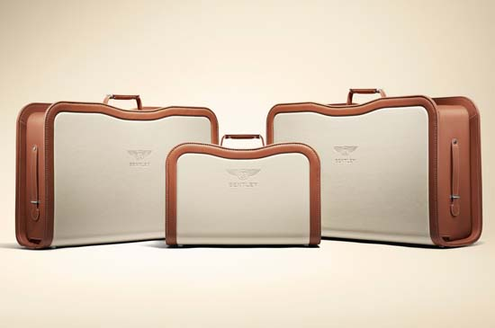 Bentley Mulsanne & Handcrafted Luggage