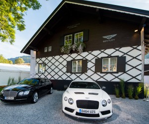 Bentley opens mountain lodge in Austria