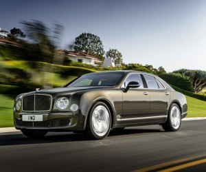 Bentley unveils new Mulsanne Speed