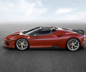 Bespoke Ferrari J50 unveiled in Japan