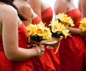 Best Burnt Orange Bridesmaid Dresses